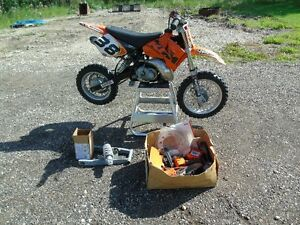 2003 KTM 50 SX Pro With both JR and SR Frames