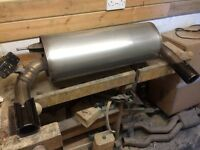 BMW 1 Series 135i / 235i rear exhaust section