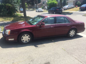 One Owner Lady owned Cadillac Deville DHS Low KMs only 128 k