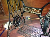 Wanted cast Singer sewing machine base
