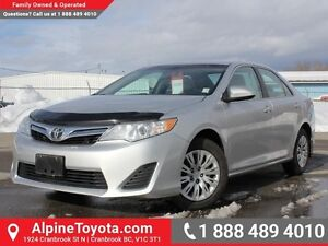 2012 Toyota Camry LE   - Low Mileage