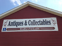 Antiques and Collectibles Garage Sale 426 Dover Road