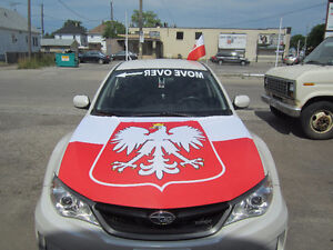 Euro Cup 2016 Car Hood Covers by Flag & Sign Depot Windsor Region Ontario image 6