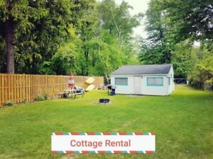 Ipperwash beach cottage near Grand Bend Lake Huron