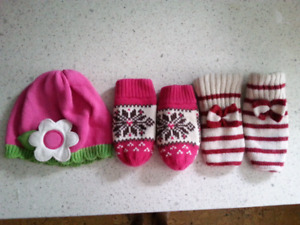 Hat and Mitts 0-12 months