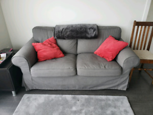 EUC Dark Grey Ikea Loveseat