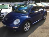 2006 Volkswagen Beetle 2.0 2dr 2 door Convertible