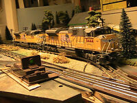 Lots of O Scale Trains
