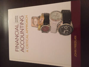 Financial Accounting A Critical Approach 4th Edition