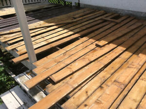 Treated wood for sale at a great price/ doors