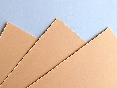 50 SHEET   A5 COLOURED CARD 170GM CHOICE OF 23 COLOURS PASTEL INTENSIVE. CREAM