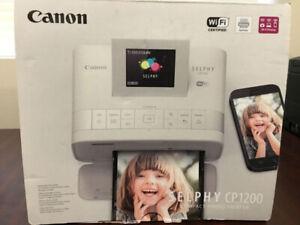 Brand New Canon Selphy CP1200 Photo Printer
