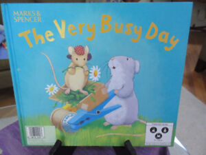 2 in 1 bk. Very Noisy Night & Very Busy Day For Ages 2+ ADORABLE
