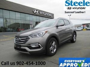 2018 HYUNDAI SANTA FE SE Sunroof Leather Backup Camera Buyback S