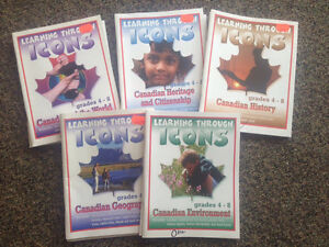 Canadian workbooks, gr 4-8 London Ontario image 1