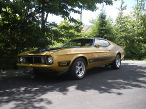 For Sale 1973 Mustang Mach 1