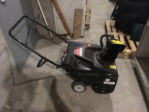 179cc single stage snowblower (no trades please)