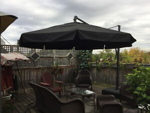 Extra Large deck umbrella.