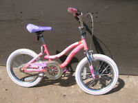"""""""VERY-NICE"""" 16 INCH GIRL'S BARBIE BIKE IN GREAT CONDITION"""