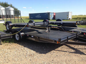 """New"" Rainbow Car & Equipment Tandem Axle Trailers"