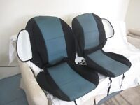 High-End Seat Covers -- CoverKing -- 2007 to 2013 GMC/Chev Truck
