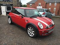 2005 Mini One 1.6 Petrol Red, 74k, FSH, 12MOT, New Gear Box, New Clutch, Wheel Baring & Brake Pipes