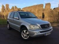 2004 (54) Mercedes-Benz ML270 2.7TD auto CDI ** New Mot Issued on Purchase **