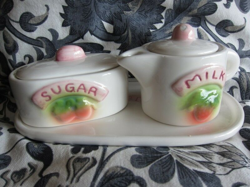 Milk and Sugar Canister Set