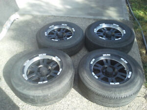 Selling a set of Ion Alloy Style 182 Wheel 15x8 5x4.5""