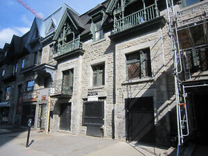 3 bedroom unit for rent on Saint-Catherine street West