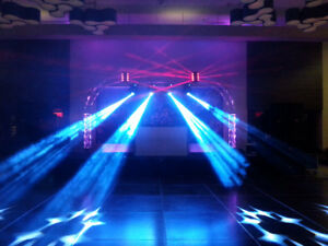 ALUMINUM TRUSS - MOVING HEAD -LED -DMX
