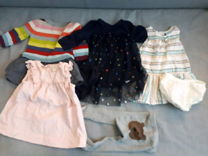 Baby gap dress lot with tiguts 6-12 months