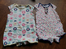 Summer rompers 3-6 months