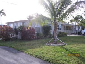 Floride Maison mobile double à vendre