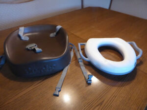Booster Seat and new Children's Potty Seat