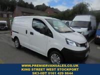2017 67 NISSAN NV200 1.5 DCI 90 BHP, ACENTA, DELIVERY MILES ONLY, ONLY 300! TWIN