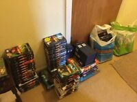 Dr Doctor Who DVDs books adventure games mugs Battles In Time folder & magazines sell £90 or swap
