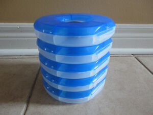 Set of 5 stackable storage containers for beads, charms, etc