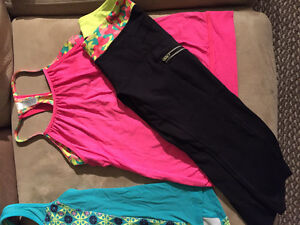 Girls athletic and bodysuits size 8-14
