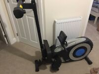 Roger Black Magnetic Rowing Machine - like new