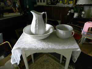 Newfoundland antique Basin & Jug