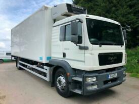 2013 MAN TGM 18.250 sleeper cab 26ft fridge box, Carrier Supra freezer unit