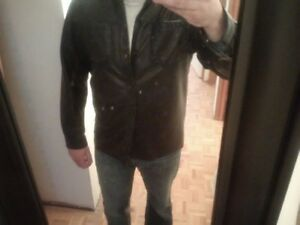 Danier xl button down shirt /jacket