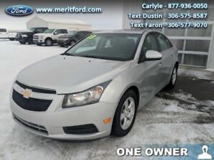 2013 Chevrolet Cruze LT  - One owner - Local - Trade-in