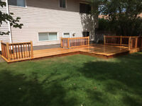 deBoer Deck and Fence