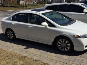 2010 Honda Civic Sedan EX-L......80356 KM!!