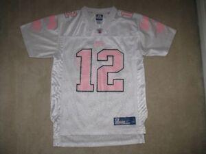 Girl's New England Patriots Tom Brady Youth Reebok Jersey
