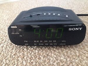 Alarm clock radio