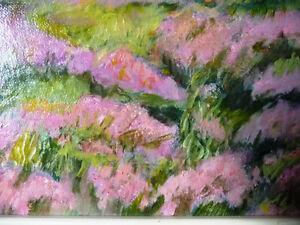 "Orig. British Oil Painting by Billie Appleton, ""Loch Na Craige"" Stratford Kitchener Area image 5"