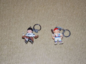 LIL' SPORTS BRAT MONTREAL EXPOS & LOS ANGELES KINGS KEYCHAIN